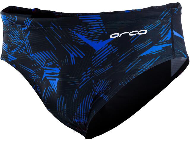 ORCA Core Briefs Men, czarny/niebieski